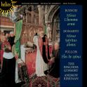 Busnois: Missa L'homme armé; Domarto: Missa Spiritus almus; Pullois: Flos de spina